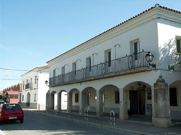 Plaza mayor de Seseña Nuevo