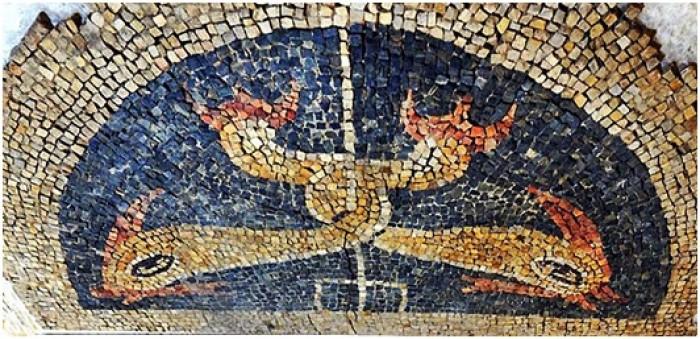 Mosaico Delfines