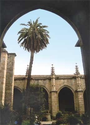 Colegiata Santa María la Mayor, claustro