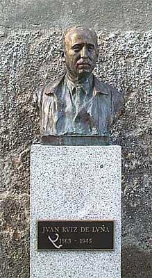 Escultura de Juan Ruiz de Luna