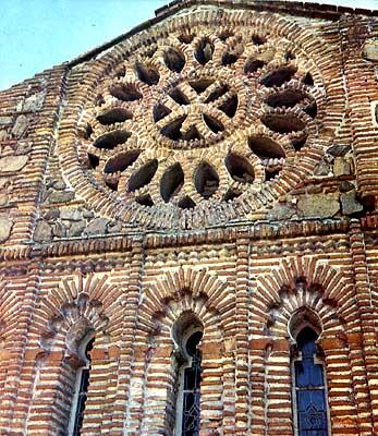 Iglesia de Santiago, fachada posterior
