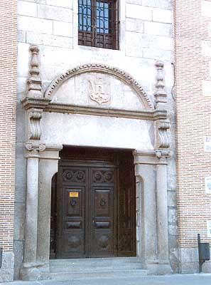 Portada del edificio de los Juzgados