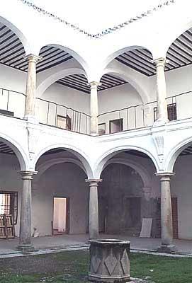 Casa Torres, patio