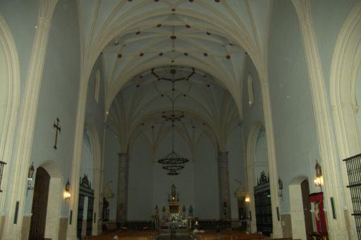 Iglesia parroquial de la Asunción, interior
