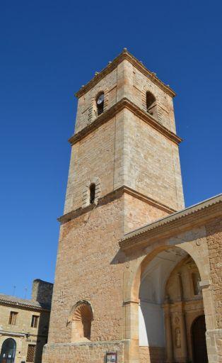 Iglesia parroquial San Antonio Abad, torre