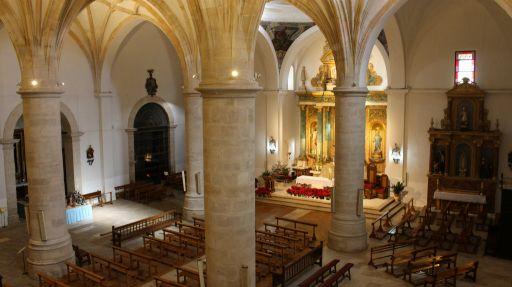 Iglesia parroquial San Antonio Abad, interior (2)
