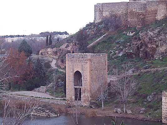 Baño de la Cava en el río Tajo