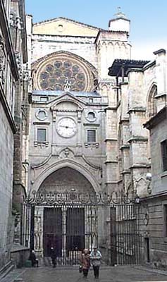 Catedral, puerta del Reloj