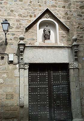 Convento Santo Domingo El Real, portería