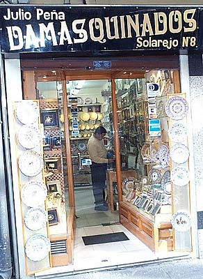 Damasquinados, Plaza Solarejo