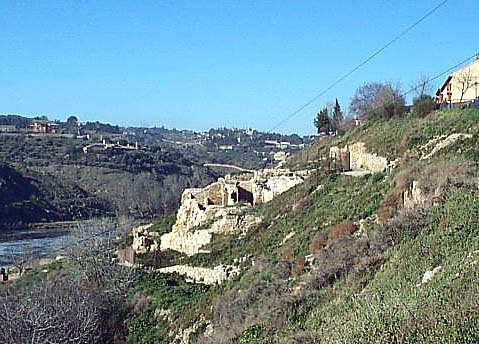 Recinto Visigodo, paseo de San Sebastián