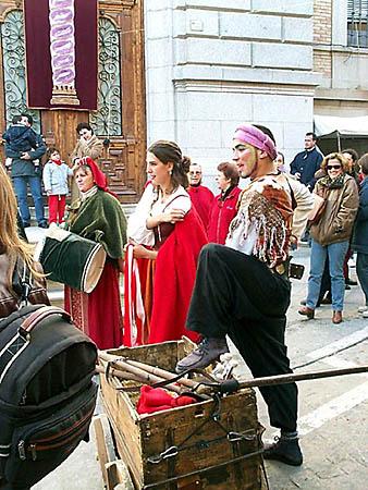 Recreación de un mercado medieval (b)