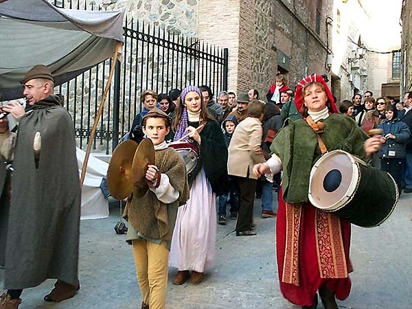 Recreación de un mercado medieval (c)