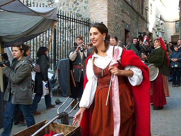 Recreación de un mercado medieval (d)