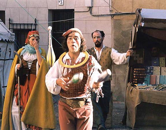Recreación de un mercado medieval (g)