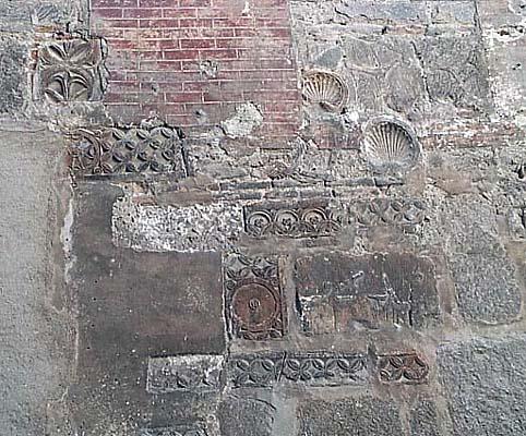 Restos visigodos, Calle San Ginés
