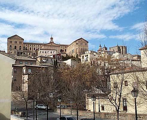 Seminario Mayor, desde las Carreras de San Sebastián