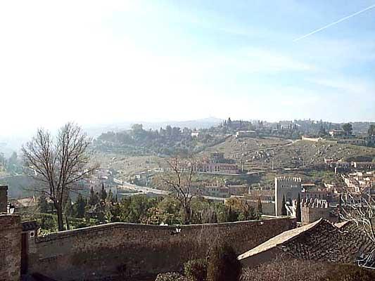 Vista de los cigarrales de Toledo (b)