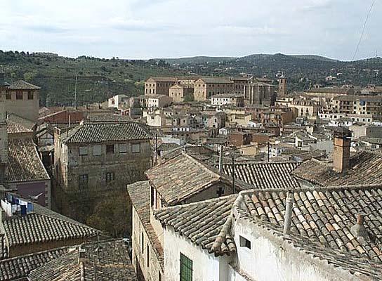 Vista de Toledo, desde  Escuela Abdón de Paz (b)