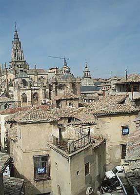 Vista de Toledo, desde  Escuela Abdón de Paz (d)
