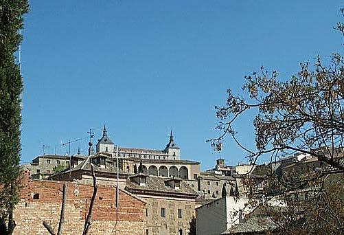 Vista de Toledo, desde  plaza San Fernando (b)