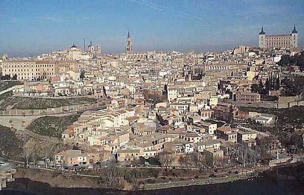 Vista de Toledo, desde Parador Nacional de Turismo