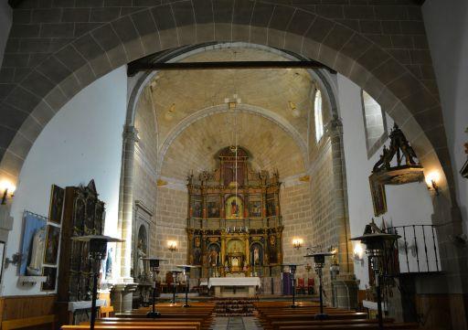 Iglesia parroquial de la Transfiguración del Señor, - El Salvador -, interior