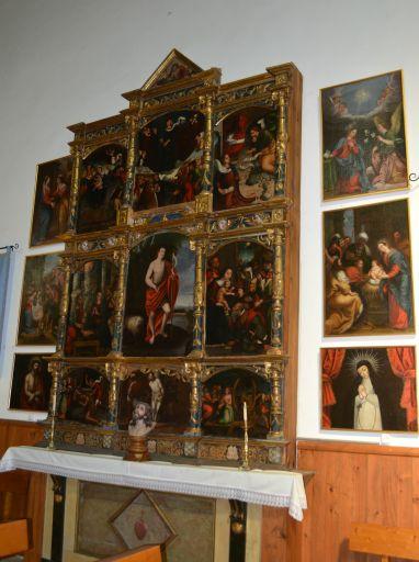 Iglesia parroquial de la Transfiguración del Señor, - El Salvador -, óleos