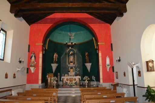 Iglesia de La Frasneda, interior