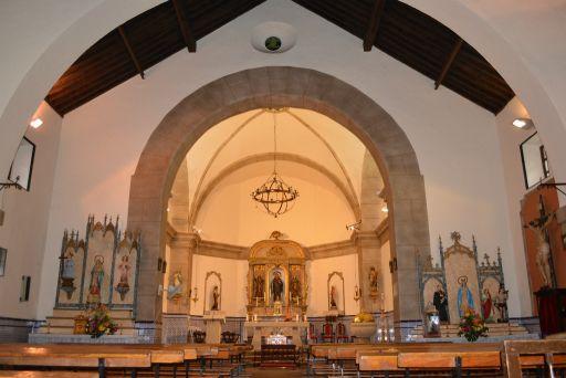 Iglesia parroquial de San Gil Abad, interior