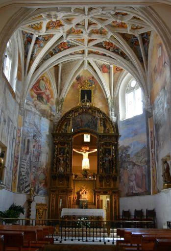 Capilla del Cristo de la Sangre, interior