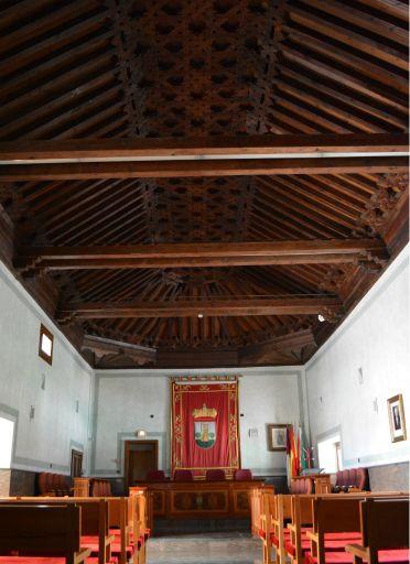 Palacio de Don Pedro I, salón de plenos