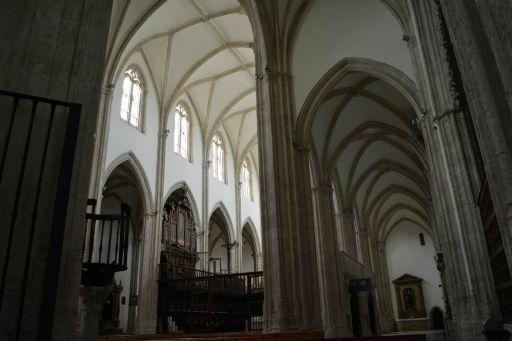 Iglesia Colegiata, interior detalle