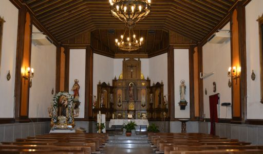 Iglesia parroquial de San Juan Bautista, Interior