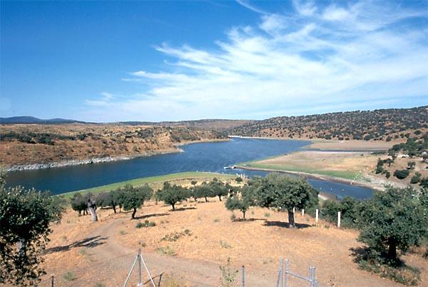 Pantano de Valdecañas, regulaje