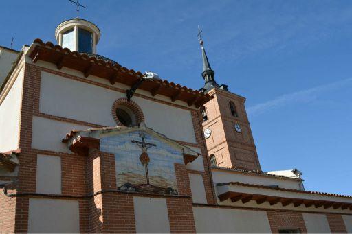 Iglesia, parte trasera