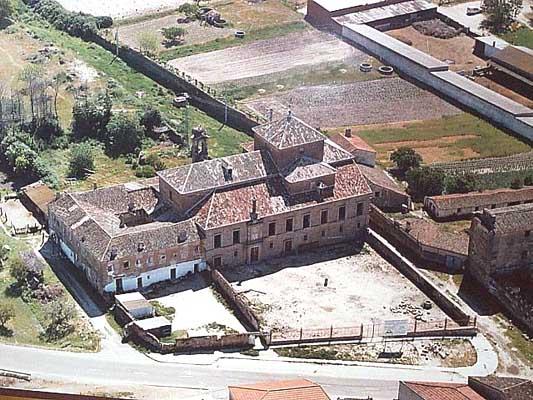 Convento, vista aérea