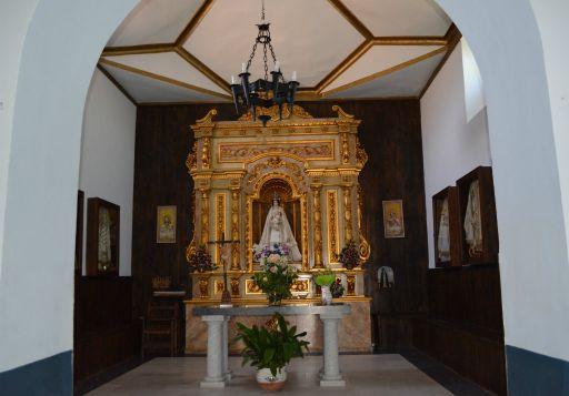 Ermita de la Virgen del Milagro, interior