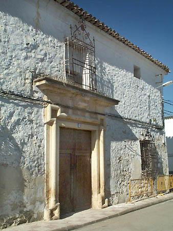 Casa de los Laras, puerta