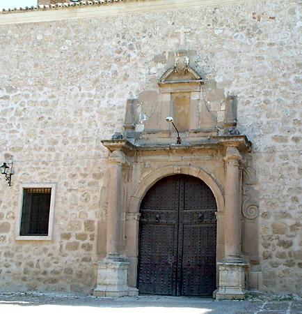 Iglesia parroquial de Nuestra Señora de la Asunción, otra puerta