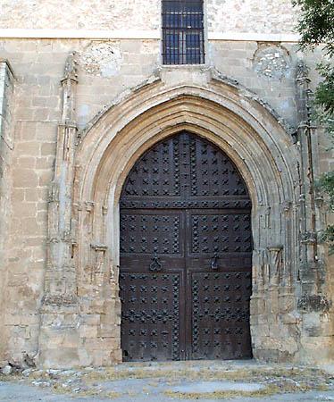 Iglesia parroquial de Nuestra Señora de la Asunción, puerta