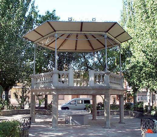 Plaza Mayor, templete