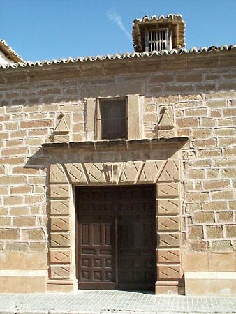 Ermita del Cristo de Santa Ana, puerta
