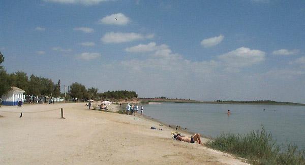 Laguna Grande, playa