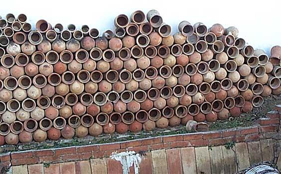 Vasijas del alfar de Gregorio Peño