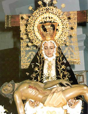 Patrona, Virgen de las Angustias