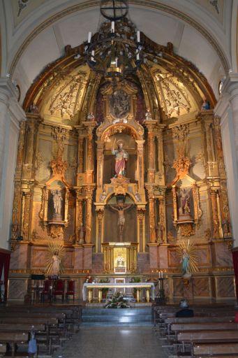 Iglesia parroquial de San Bartolomé, interior