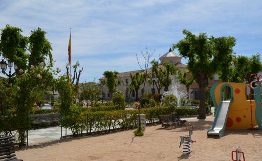 Parque plaza Miguel de Cervantes