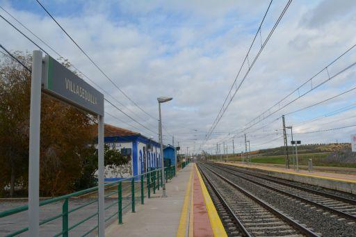 Estación de tren, vía