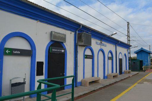 Estación de tren, edificio